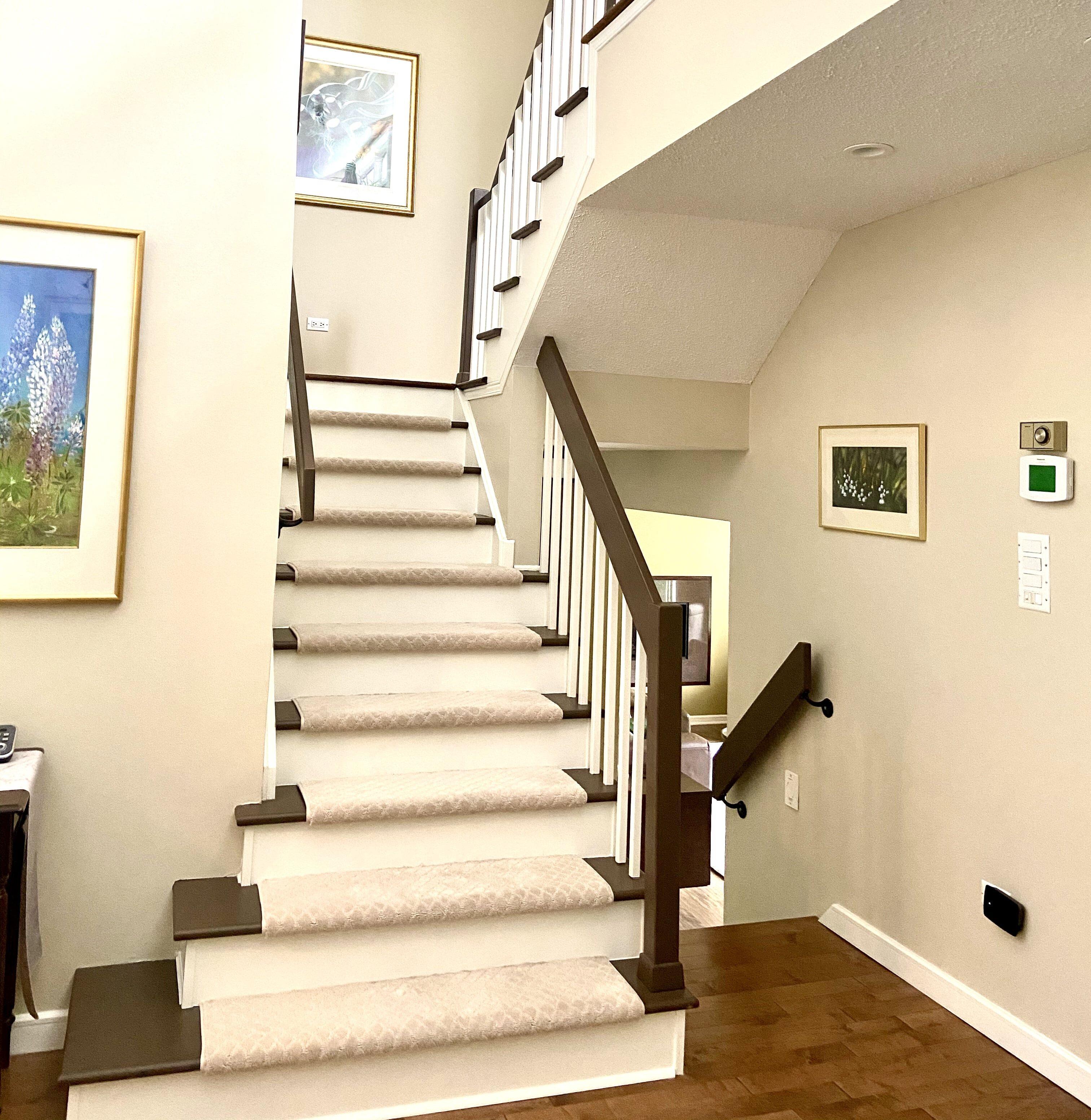 beautiful Kanata stairs